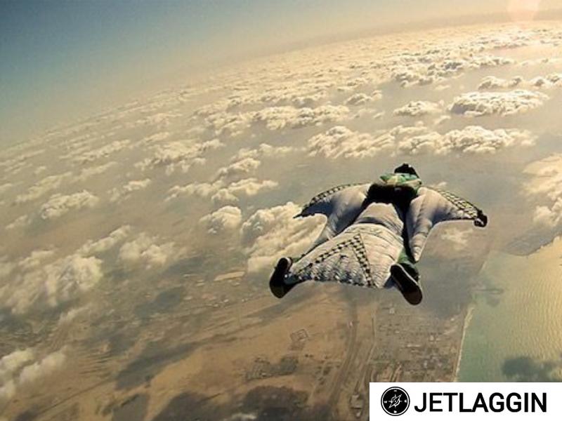 daring travel sky dive