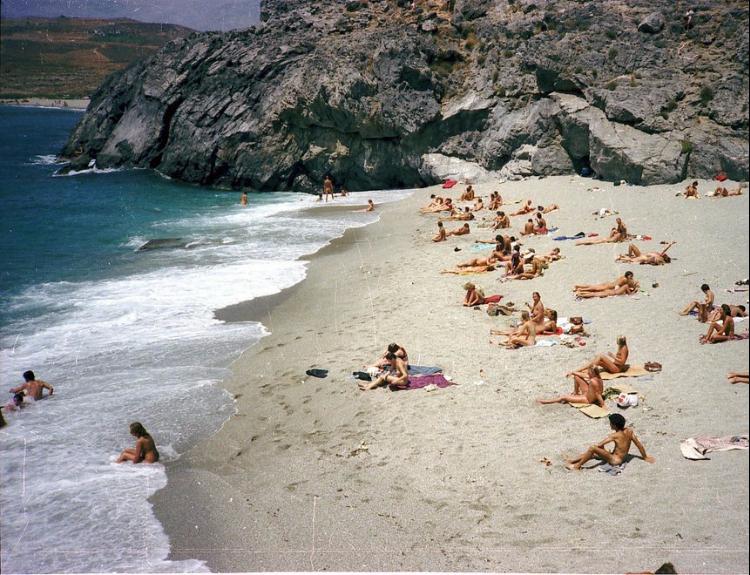 beach location nude