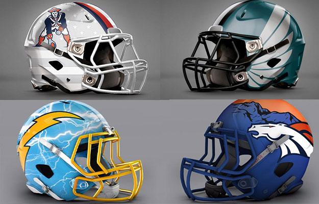cb3867bc858 Check Out The Awesome Redesigned NFL Helmets of All 32 Teams - Jetlaggin